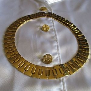 NAPIER GOLD LINK CHAIN NECKLACE – NWOT